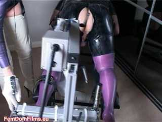 Nurse Chatterley's Anal Fucking Machine (SD wmv)