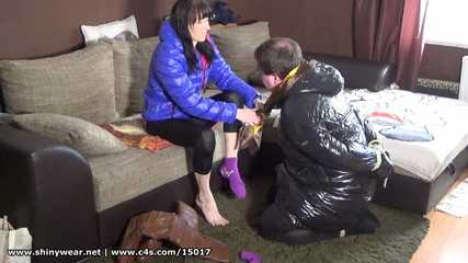 Miss Peggy - take of my socks and lick my soles!
