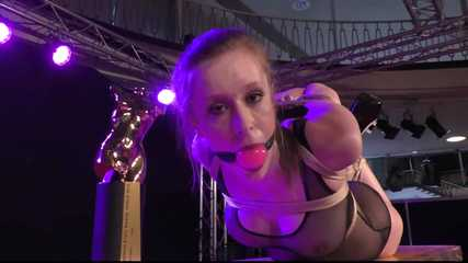 Bonus Update: Venus Award Winning Hogtie for Cobie !