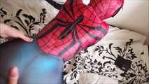 2017 New SpiderGirl Costume Blowjob  3
