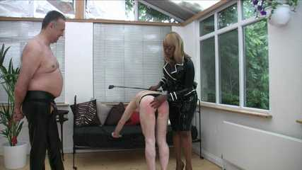 Mistress Ava Black's Whipping - Thank You Mistress (HD wmv)