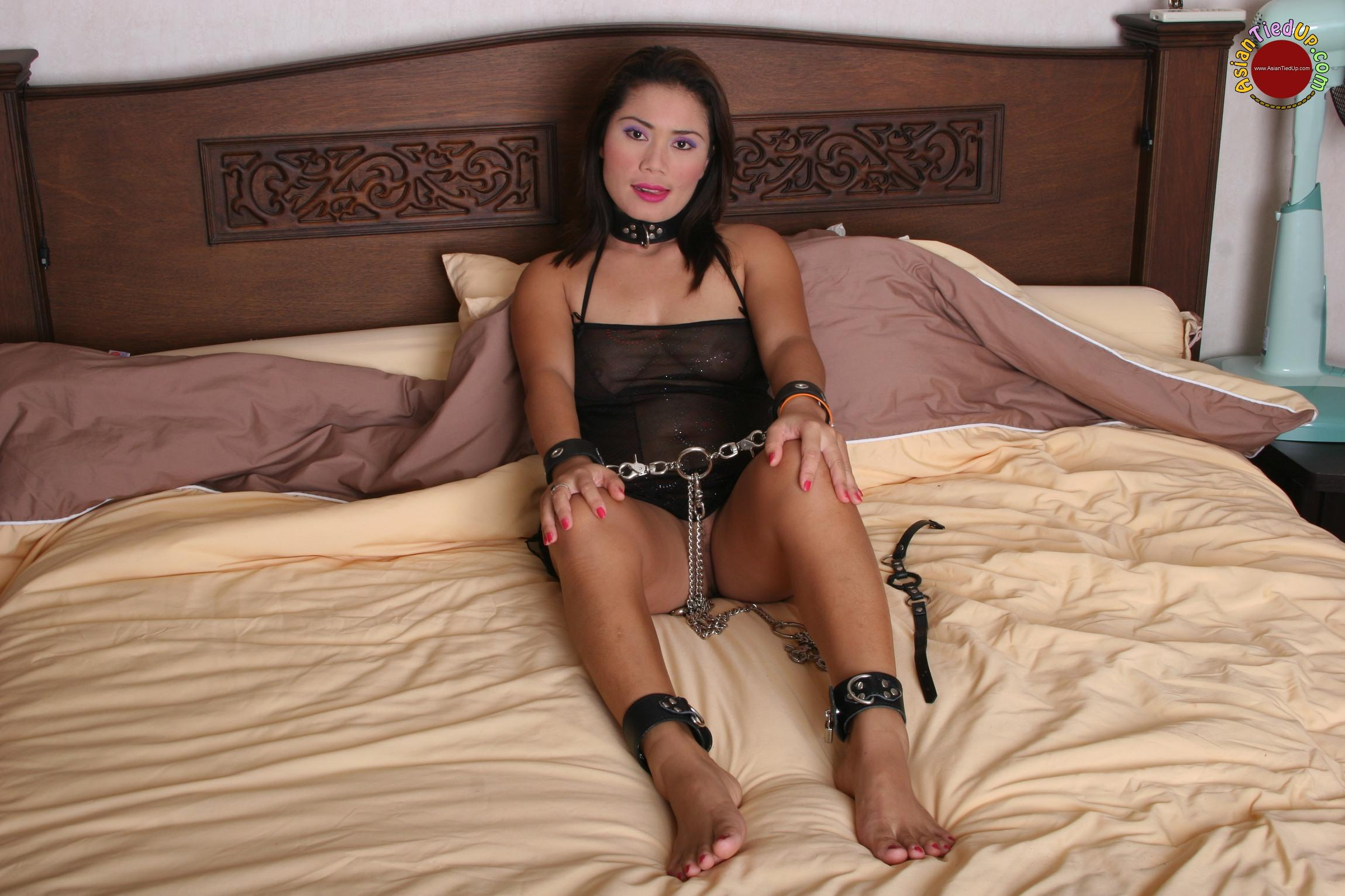 Asian Girls Tied Up  Ring Gagged And Humiliated Asian Slave-3465