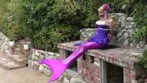Captured Mermaid Lorelei Bound on the Grill 2
