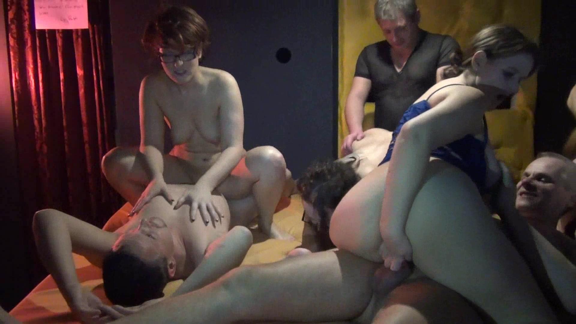 mass orgy