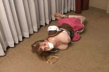 Hogtied BeerGirl - Big Boobed Captive Lorelei