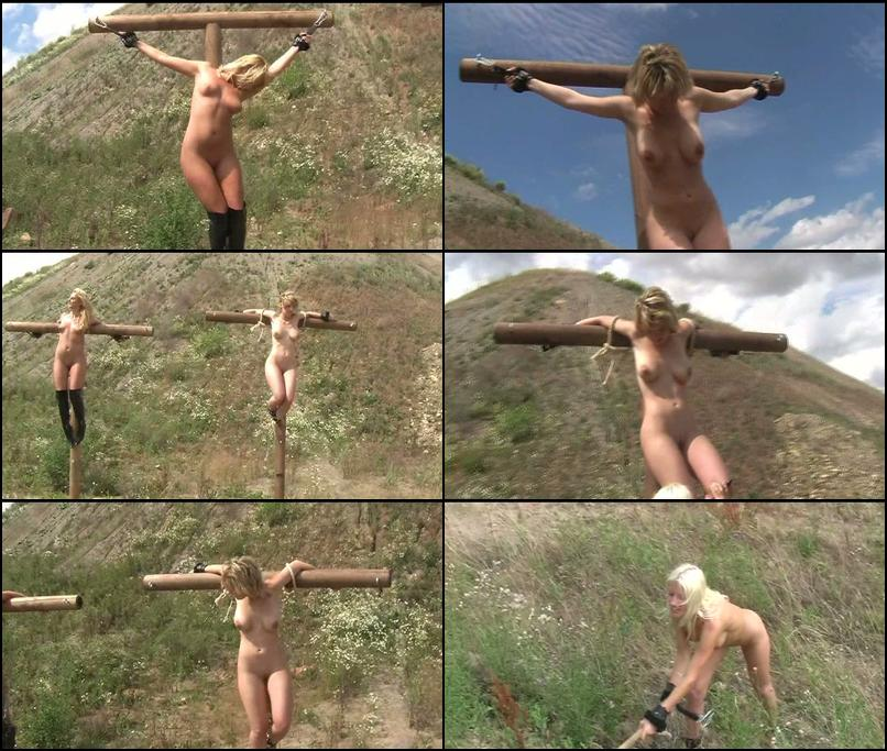 Slave bitches - crucified in the hot sun - clipspool.com