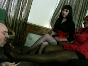 Nongrid_medium_mistress-ava-black-and-goddess-cleo-novice-slave-strict-shoe-worship-part-1