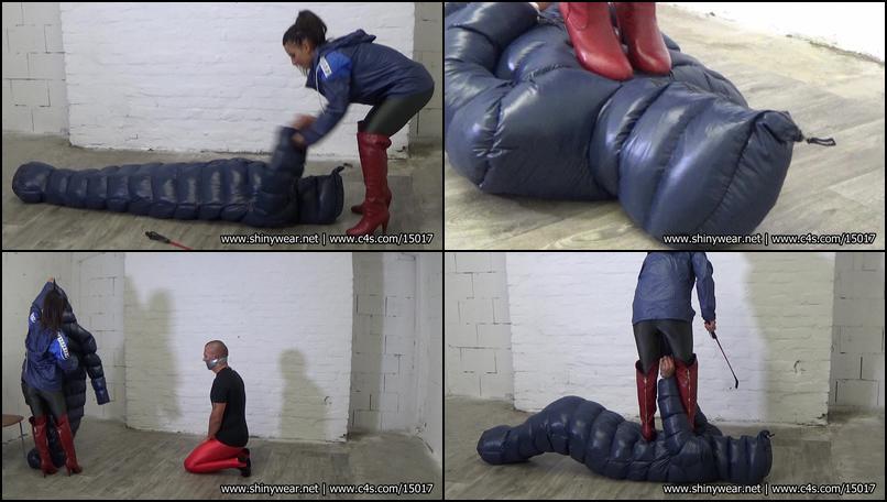 image Latex vacuum bondage hot hitchhiker rough